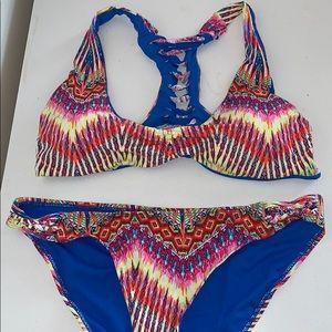 TiniBikini multi colored bikini (top and bottom)